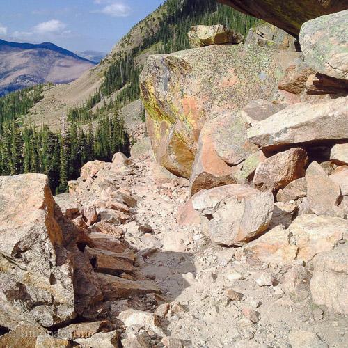 Odessa Lake Trail, Rocky Mountain National Park (the joy of hiking)